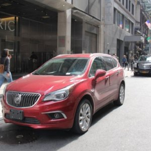 2017 BUICK ENVISION road trip